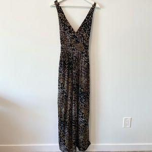 MEXX Leopard Print Maxi Dress